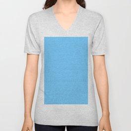 Maya Blue Unisex V-Neck