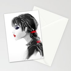 red tape Stationery Cards