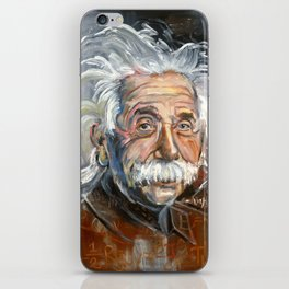 Einstein iPhone Skin