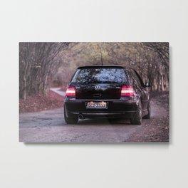 Golf GTi VR6 Metal Print