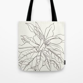 Jungle Plant TropicLeavesalineGraphic Tote Bag