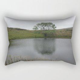 Irish Tree by Lake Rectangular Pillow