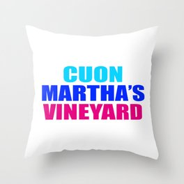 CUON MARTHAs VINEYARD Throw Pillow