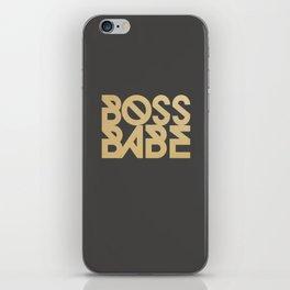 Boss Babe iPhone Skin