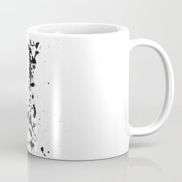 Giraffe ink splatter Coffee Mug
