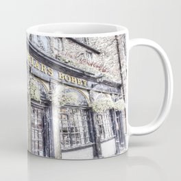 Greyfriars Bobby Pub Snow Art Coffee Mug