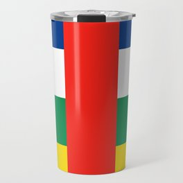 Flag of the Central African Republic Travel Mug