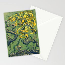 Epiphycadia II: Green Stationery Cards