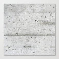 Simply concrete Canvas Print