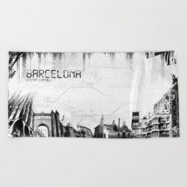 Barcelona Beach Towel