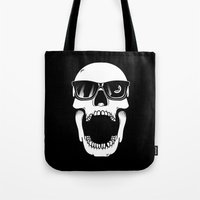 toothless Tote Bags featuring Toothless by Magnus Snickars