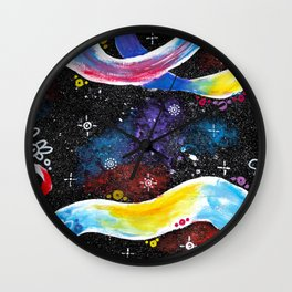 """constellations"" Wall Clock"