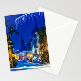 Christmas In Old Montreal Stationery Cards