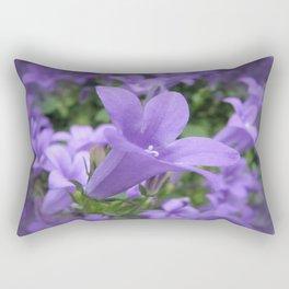 Lilac Lobelia Rectangular Pillow