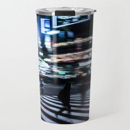 blurred motion at Shibuyacrossing Travel Mug