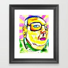 Kim Jong Il has Pretty Lips Framed Art Print