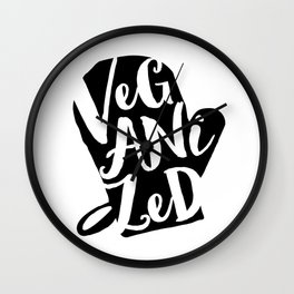 Veganized Wall Clock