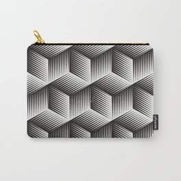 Black And White cuber Carry-All Pouch
