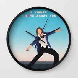 10 Things I Hate About You Wall Clock