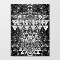 triangles Canvas Prints featuring TRIANGLES. by Council for design.