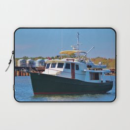 Classic Wooden Boat Laptop Sleeve