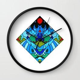 Vert A Gauche Wall Clock