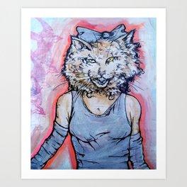 How Will I Meow? Art Print