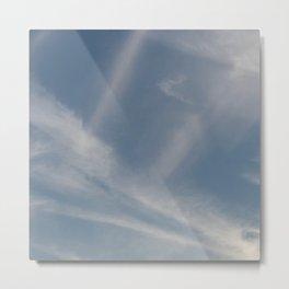 Spring Evening Sky // Cloud Photography Metal Print