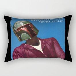 """Morrisith """"Boba Kills"""" Rectangular Pillow"""