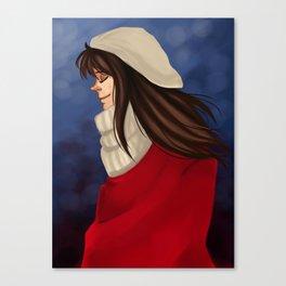Winter Child Canvas Print