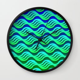 On a Placid Sea Wall Clock