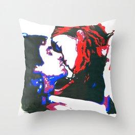 Eternal Sunshine watercolor Throw Pillow