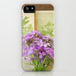 Book of Phlox iPhone Case