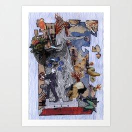 Baobab dreams Art Print