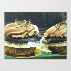 Chocolate Cupcakes! ~ sweets ~ food Canvas Print