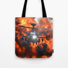 Apache Explosion Tote Bag