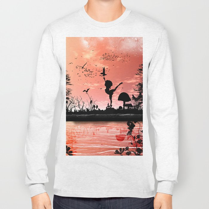 Dancing with the birds Long Sleeve T-shirt