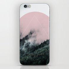 Foggy Woods 2 iPhone Skin