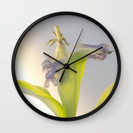 rage, rage against the dying of the light Wall Clock