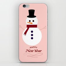 Snowman 2016 iPhone & iPod Skin