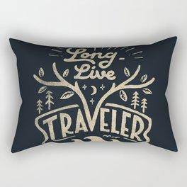 Long Live Rectangular Pillow