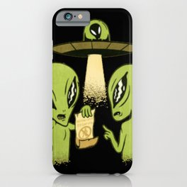 Alien Contract best gift for space lovers iPhone Case