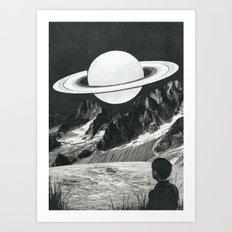 Il pianeta nascente Art Print