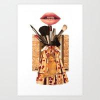 """Hungry"" Art Print"