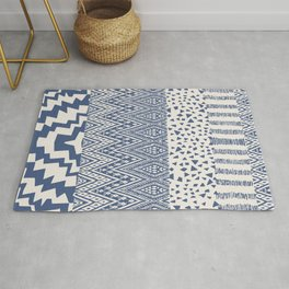 N104 - Oriental Traditional Moroccan Geometric Shapes Design   Rug