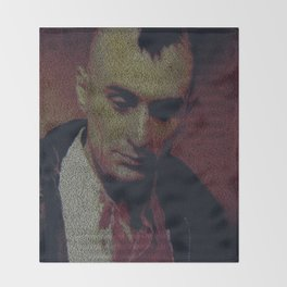 Travis. Taxi Driver Screenplay Print Throw Blanket