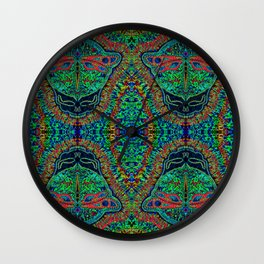 Melt Your Face Wall Clock