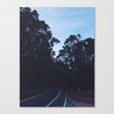Somewhere Sausalito. Canvas Print