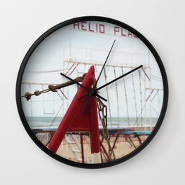 Beach H Wall Clock