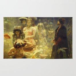 Sadko by Ilya Repin, 1876 Rug